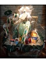 foto da cesta de café da manhã do palmeiras